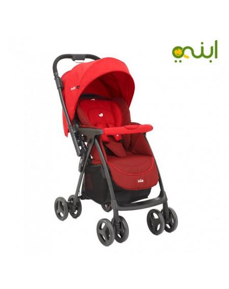 عربة اطفال مايروس من جوي - احمر ليتشي