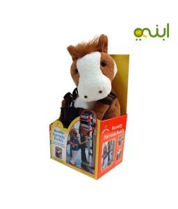 حزام أمان الطفل شكل حصان