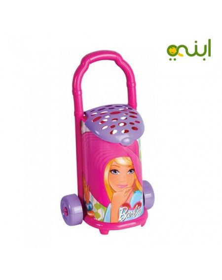حقيبة باربي بزار بعجلات من ديدي - زهري