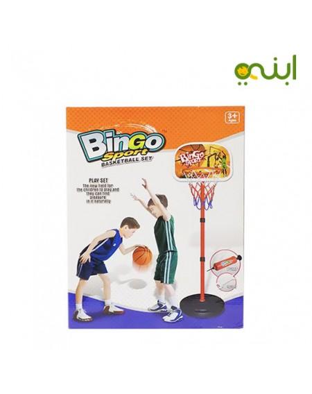 لعبة كرة السلة من بينجو