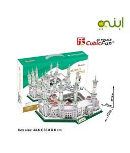 بازل المسجد الحرام ثلاثي الابعاد للجنسين من كيوبك فن - 249 قطعة