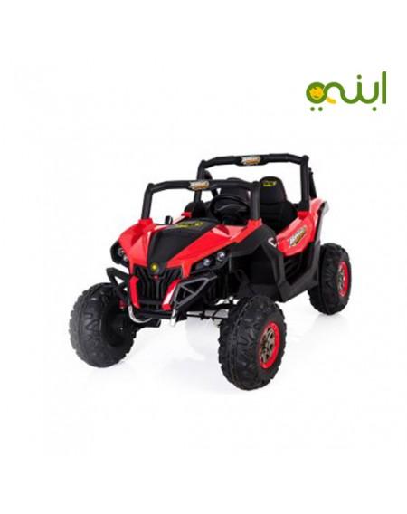 لعبة سيارة ركوب للجبال من بينجو 12 فولت، 4 موتور، مقعدين