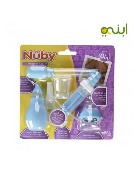 مجموعة طبية للعناية بالطفل شفاط انف واذن وببرونة ادوية 24170