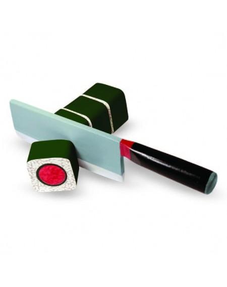 لعبة تقطيع وتحضير السوشي الخشبية