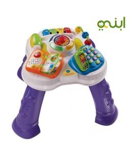 طاولة تعليمية لطفلك الصغير بالأرقام والألوان والحيوانات وموسيقى
