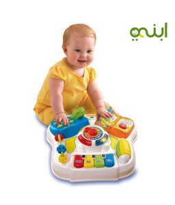 educational table for your baby with numbers, colors, animals and music