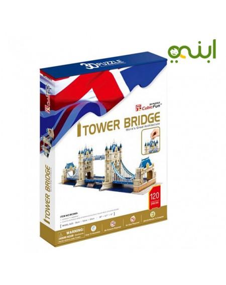 لغز مكعب برج جسر ثلاثي الأبعاد للأطفالالعاب