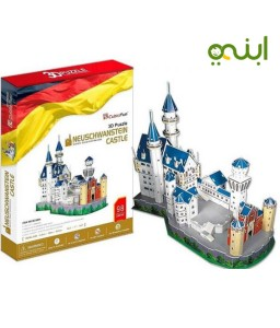 3D Puzzle Neuschwanstein Castle for smart child