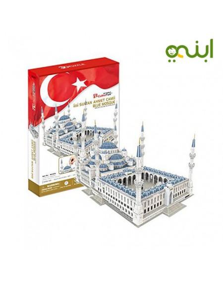مجموعة بازل ثلاثي الابعاد شكل مسجد السلطان احمدالعاب
