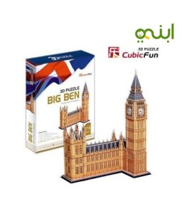 3d Big Ben Luxury Jigsaw Puzzle 116 Pcs