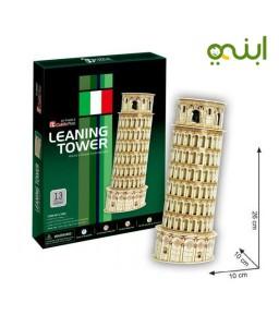 برج بيزا ثلاثي الأبعاد لغز مميز للتصميم