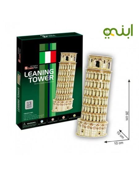 برج بيزا ثلاثي الأبعاد لغز مميز للتصميمالعاب