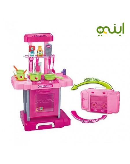 مطبخ بينجو للفتيات سهلة الفك والتركيبالعاب
