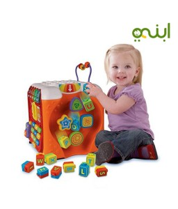 fun cube game to teach the alphabet to your kids