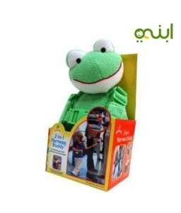 To protect and save child the child's Harness Buddy frog
