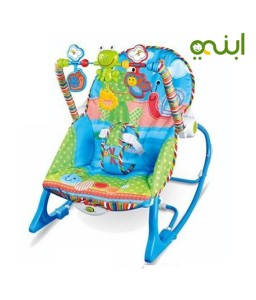 special seat full of fun toys for your toddler