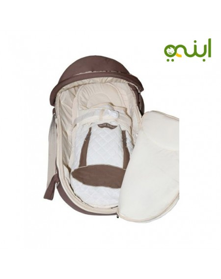 Petit Bebe Carry Cot for your newborn baby with a wonderful design
