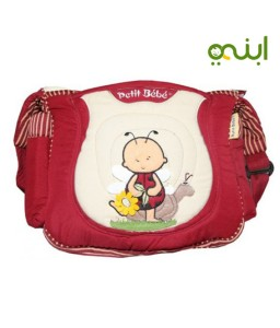 diaper bag and accessories for perfect mother