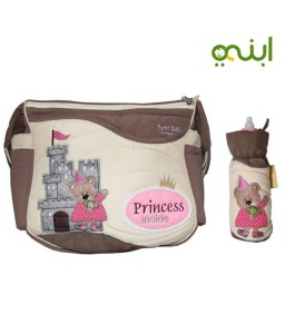 The Princess Diapers bag with a pod for the bottle with smart paintings