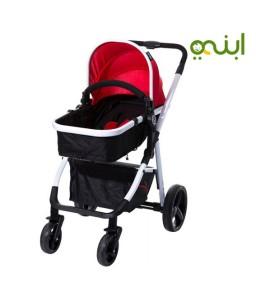 عربة اطفال وسرير محمول 2 في 1 مميزة لطفلك