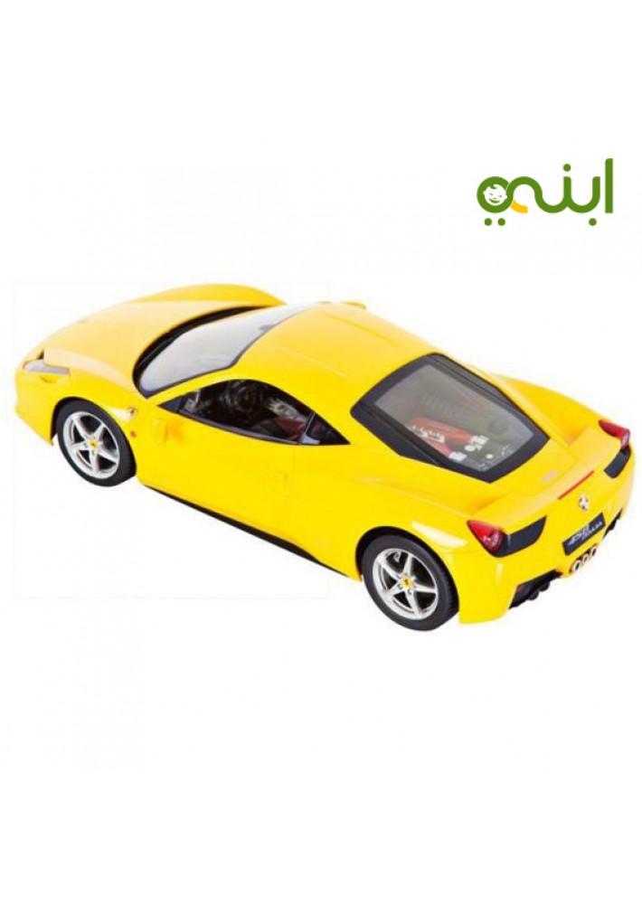Ferrari Car Attractive Toy In Yellow