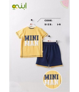 Boys set is great for summer - yellow
