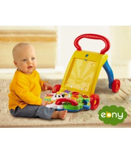 First baby Steps by Baby Walker