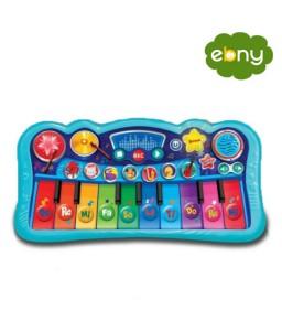 متعة الموسيقى الساحرة من خلال لوحة المفاتيح المميزة لطفلك