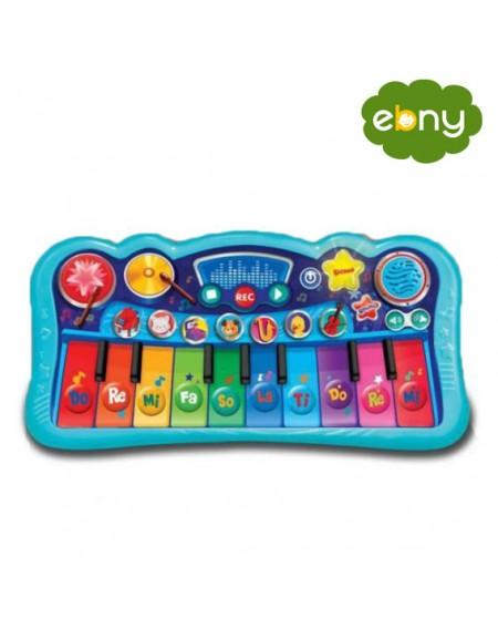 متعة الموسيقى الساحرة من خلال لوحة المفاتيح المميزة لطفلكمن الولاده الي عمر سنتين