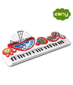 لعبة مميزة لطفلك بيانو الكتروني ينير ويضئ