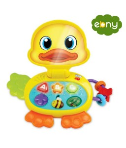 A Fun Duck Laptop To Develop A Little Child 's Intelligence
