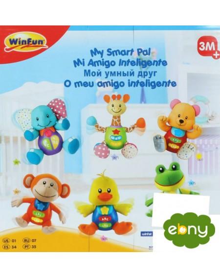 لعبة  مميزة لطفلك الرضيع لتنمية الاستماع والتعلممن الولاده الي عمر سنتين