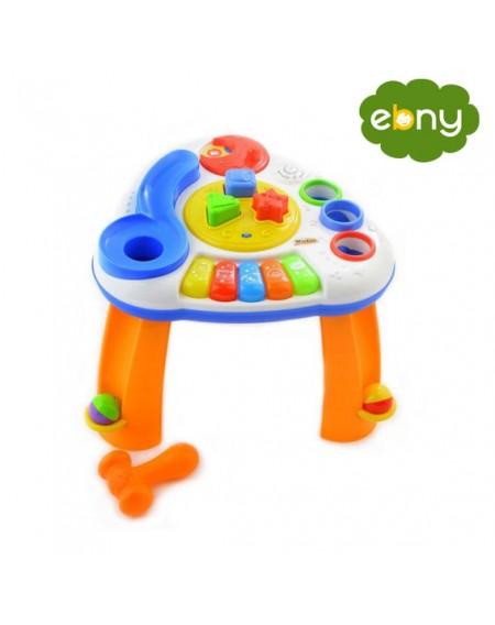 لعبة الاشكال على طاولة موسيقية من وين فانمن الولاده الي عمر سنتين