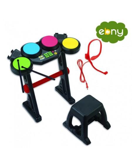 لعبة الدرامز الممتعة لتعليم الموسيقى والالحان لطفلكالعاب